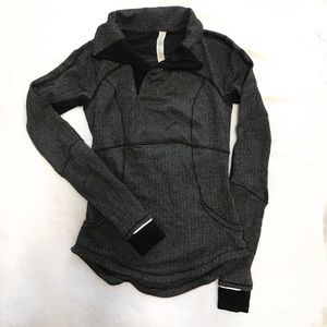 Lululemon Asymmetrical Zip Sweatshirt